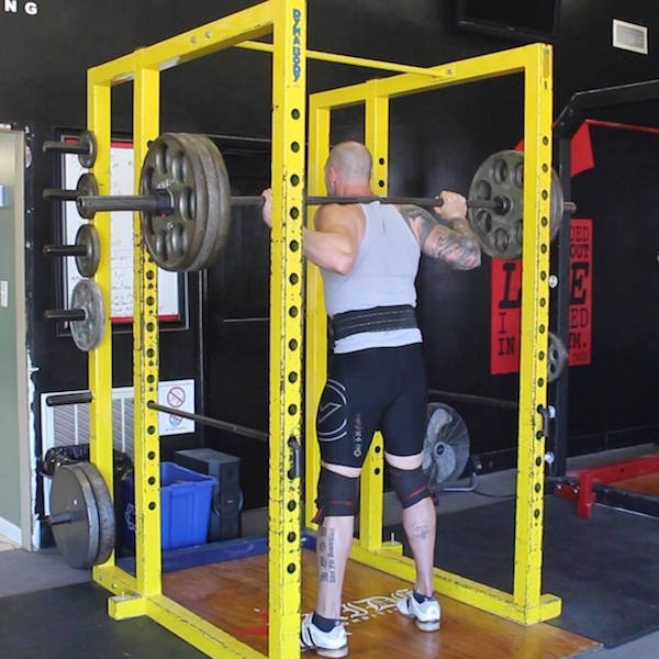 doug seamans pride conditioning gym charlotte squat powerlifting