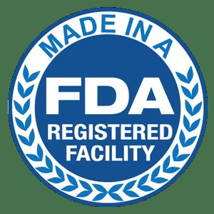 FDA Registered Facility Cert