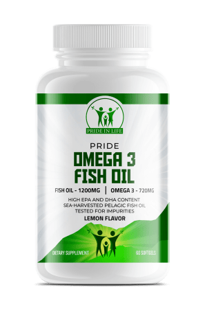 Pride Omega 3 Fish Oil