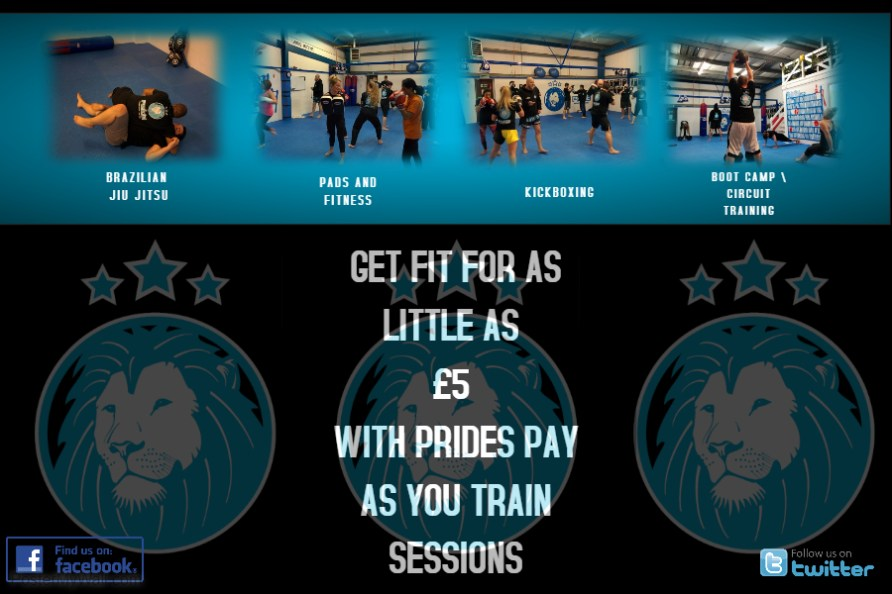 Pay as you train £5 sessions