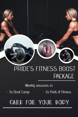 Pride's Fitness Boost Package