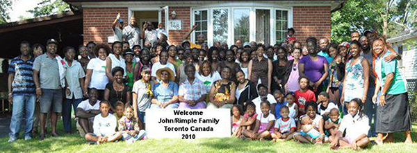 A Family Reunion With A Charitable Intent: Over 300 Family Members Donate To Guyanese Causes