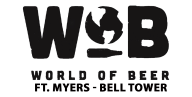 WORLD OF BEER BELL TOWER - 2017 SWFL PRIDE SPONSOR