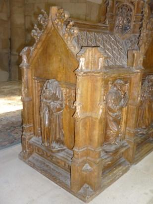 Saint-Parres et Saint-Pierre, châsse provenant de Foicy, église Saint-Parres-aux-Tertres. Photo JGE (2014)