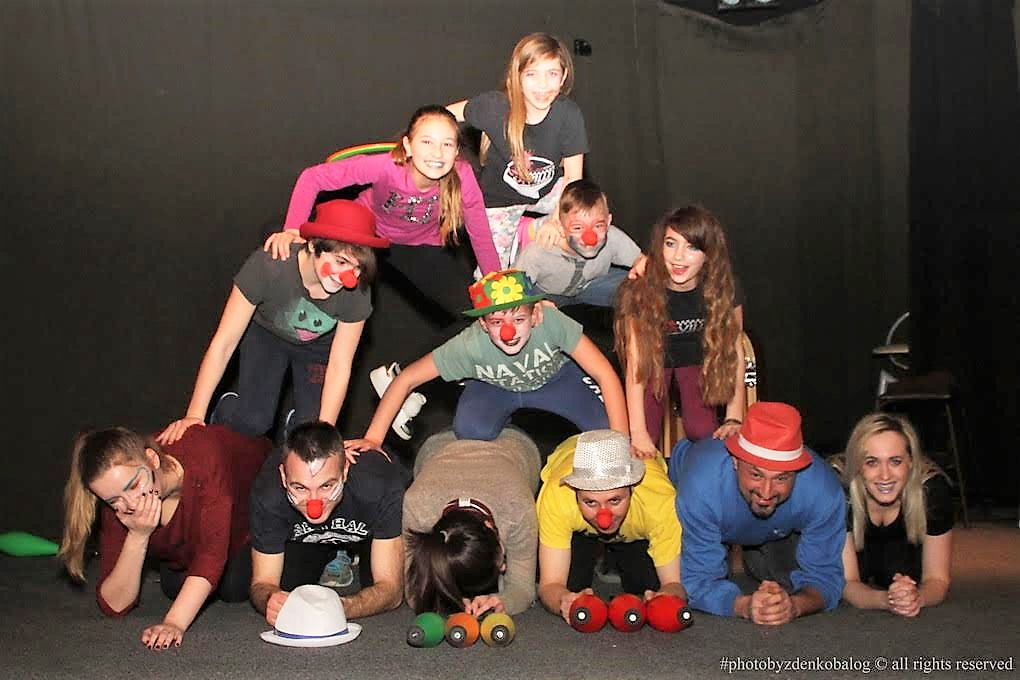 PREDSTAVLJAMO U Klubu kulture treniraju križevački žongleri