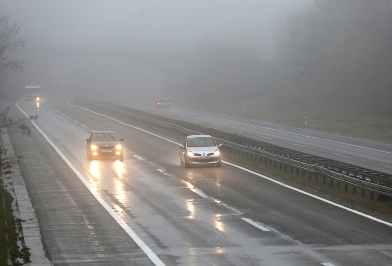 HAK: Magla mjestimice na A1 kod čvora Donja Zdenčina