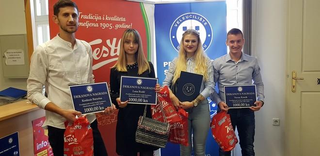 [FOTO] Dan Veleučilišta u Bjelovaru // Novčane nagrade i oslobađanje plaćanja 50 posto školarine dobilo četvero studenata