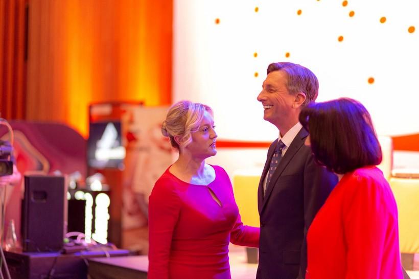 Slovenski predsjednik Borut Pahor poslušao futurološke savjete Sanele Dropulić, direktorice Ženskog poduzetničkog centra