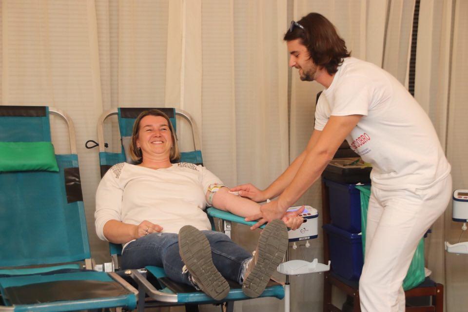 [FOTO] U Križevcima prikupljene 84 doze krvi, akcija se nastavlja u četvrtak