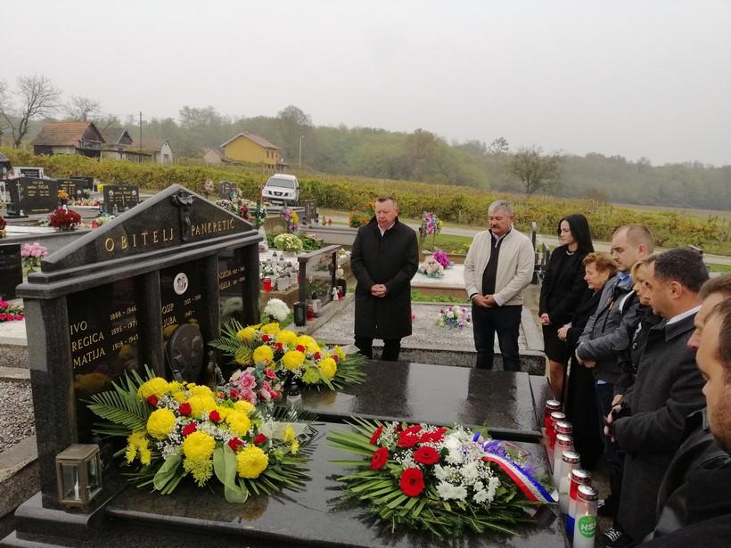 Članovi HSS-a posjetili grob Josipa Pankretića