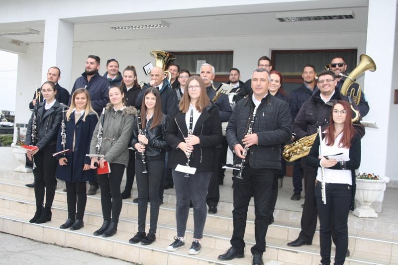 Limena glazba Vrbovec održala tradicionalni koncert na groblju