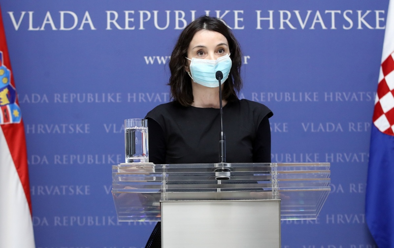 Ministrica Vučković: 'Trgovine su dobro opskrbljene. Cilj je povećati vlastitu proizvodnju, smanjiti ovisnost o nekim uvoznim kategorijama'