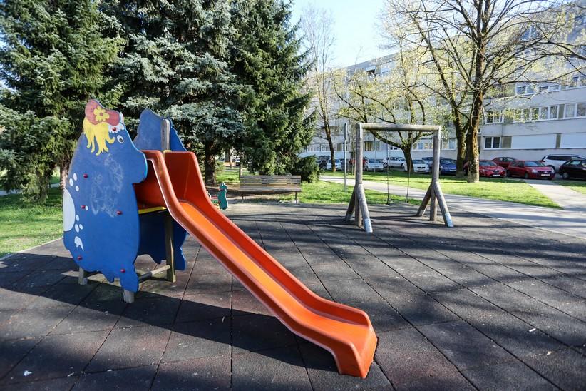 Zagreb zatvorio sve dječje parkove i igrališta