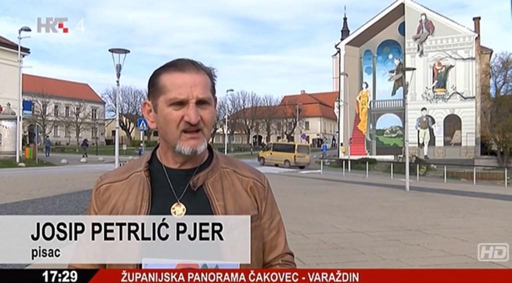 [VIDEO] Županijska panorama HRT-a predstavila križevačkog pisca Josipa Petrlića Pjera