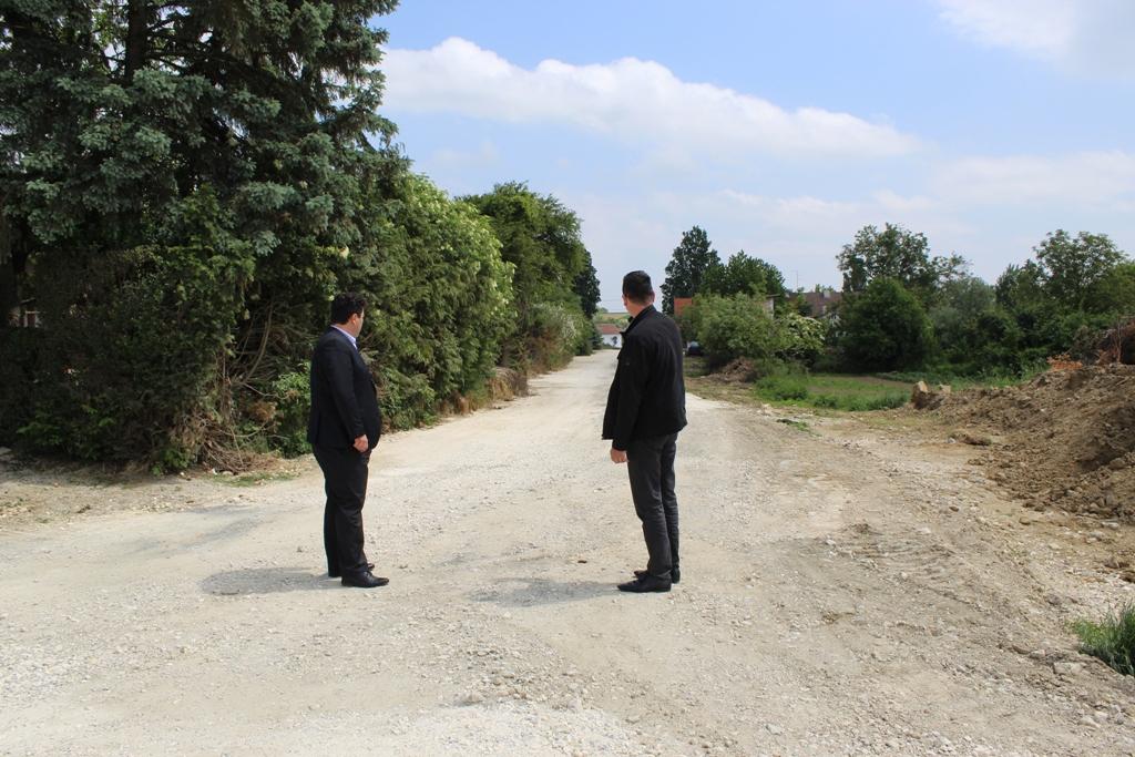 Završeni radovi na izgradnji odvodnje na Posrednjem putu i odvojku Ulice kralja Tomislava