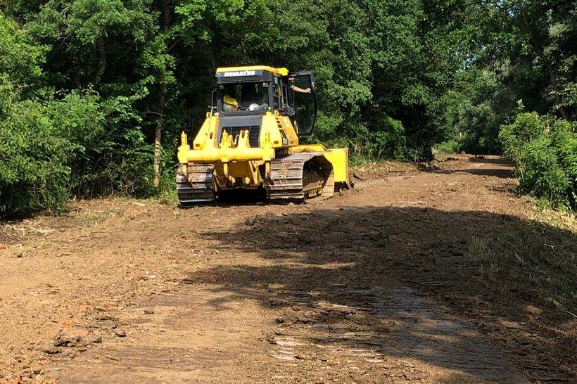 Počeli radovi na izgradnji Šumske ceste u općini Dubrava