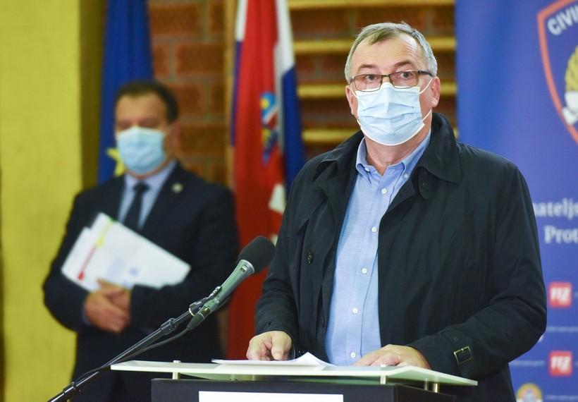 Capak: 'Novi podaci daju nadu da porast novozaraženih stagnira'