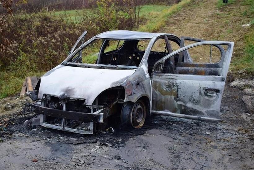 Policija se oglasila o zapaljenom automobilu u kojem su našli mrtvo tijelo