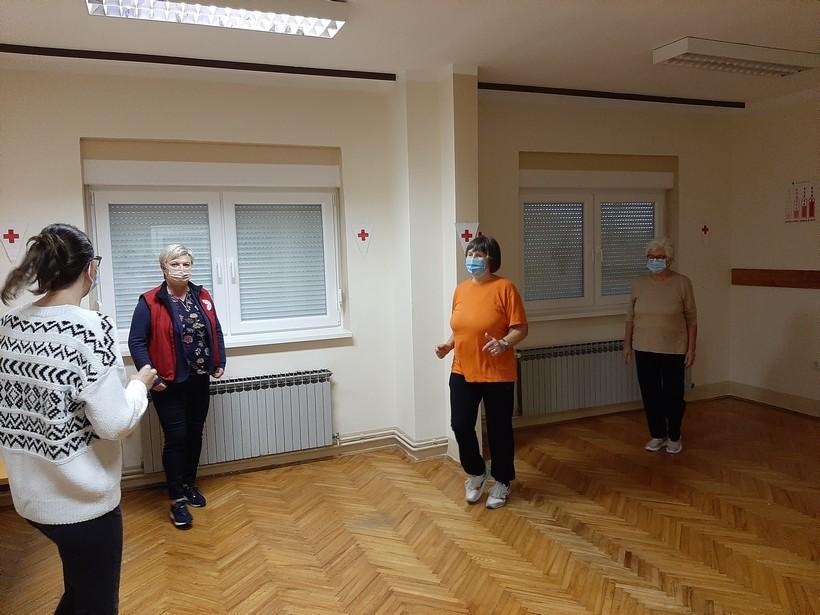 Prvi trening Volonter penzioner 4