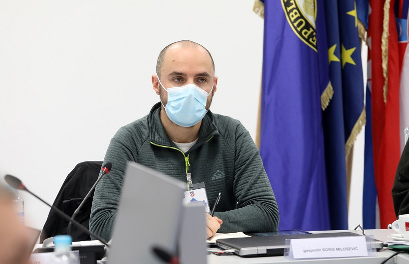 Milošević nije zadovoljan djelovanjem sustava na potresom pogođenom području