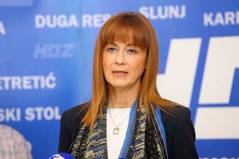 Martina Furdek Hajdin (HDZ) predstavila program za karlovačku županicu