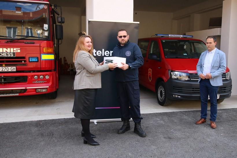 Tvrtka Telemach Hrvatska donirala dron DVD-u Legrad