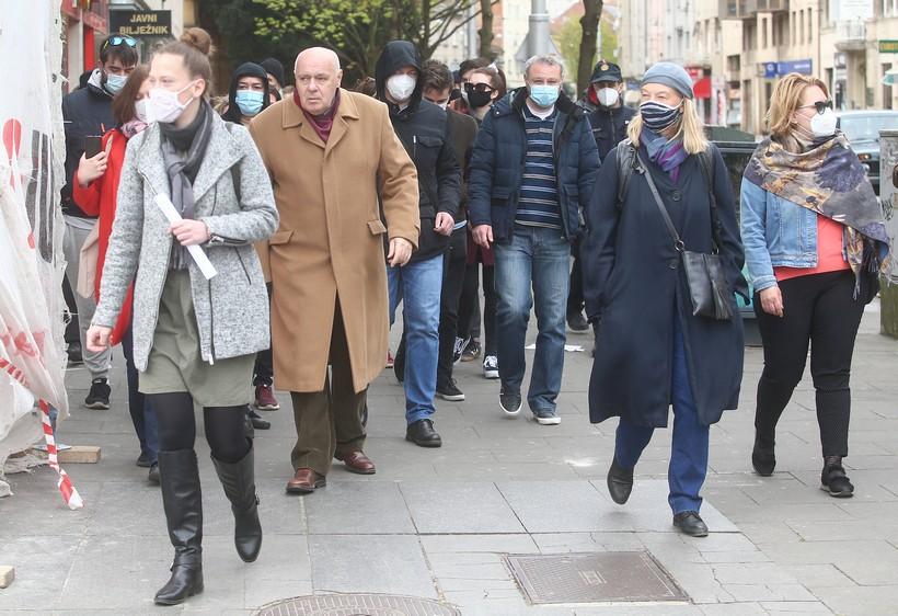 Šetali u spomen na NDH: 'Pavelić je puno važniji od Krleže ili Gundulića za hrvatsku povijest'