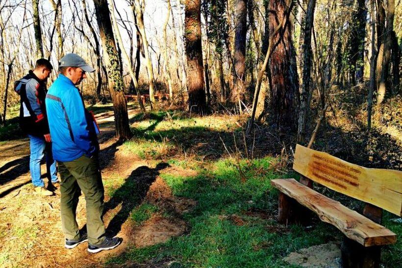 Uređena nova Trim staza u park šumi Borik