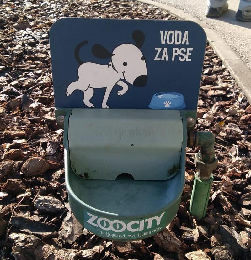 U Koprivnici postavljene pojilice za pse