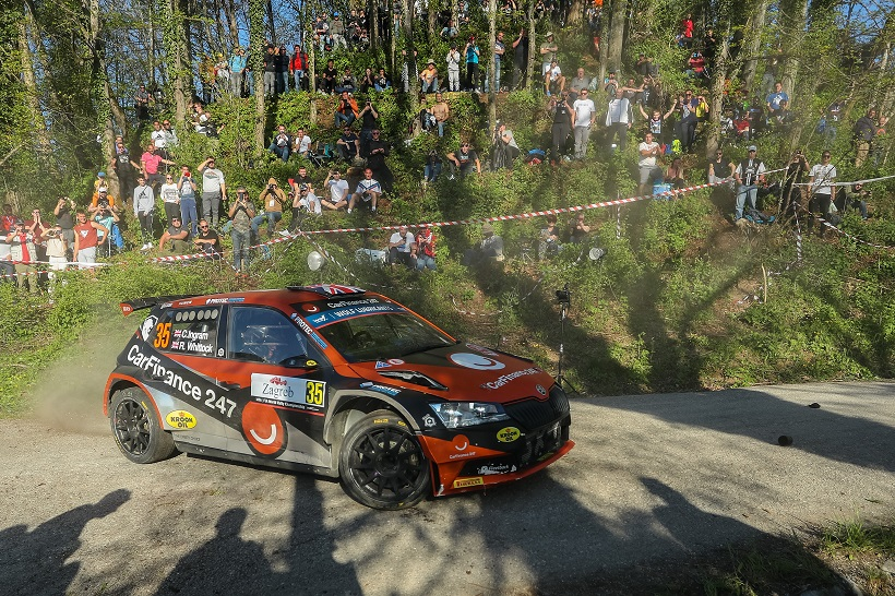 Croatia Rally: Evans preuzeo vodstvo, a slijede Ogier i Neuville