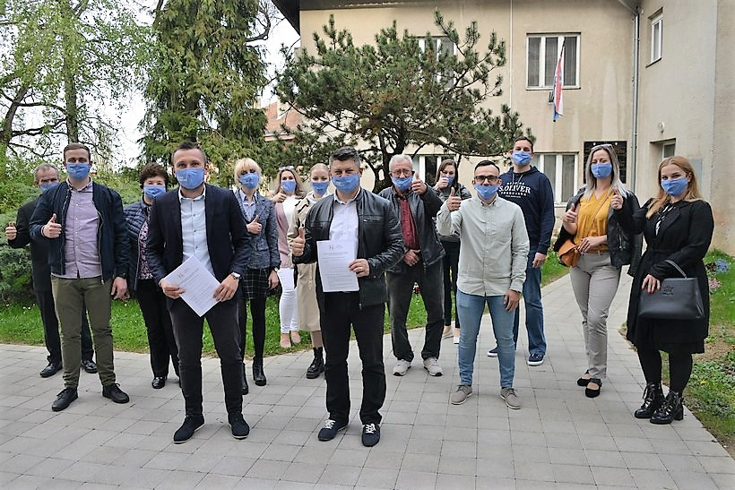 PREDALI 1111 POTPISA Ivica Švagelj: Pozivam sve birače da izađu na izbore 16. svibnja