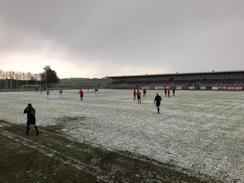 [VIDEO] Utakmica u Vrbovcu zbog snijega nije krenula na vrijeme