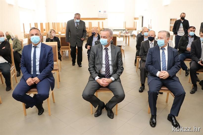 Župan Darko Koren sa suradnicima prisustvovao svečanoj sjednici povodom Dana Općine Rasinja