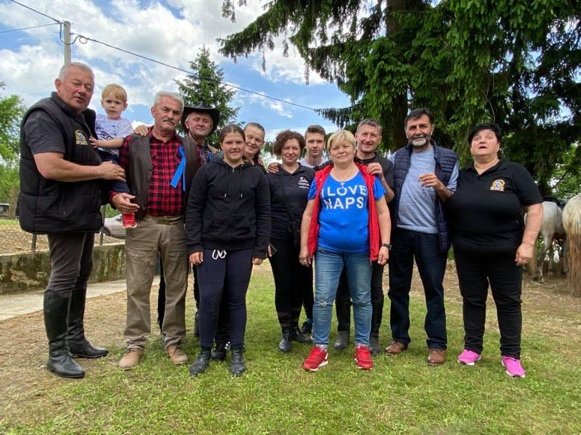 [FOTO/VIDEO] Leona Blagaj proslavila 15. rođendan, a okupili su se i jahači iz Moslavine, Zagorja i Prigorja