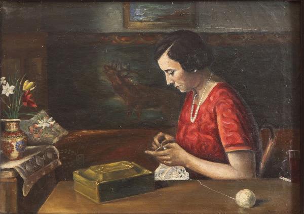 "Otvorenje izložbe ""Zaboravljeni križevački slikar Anton Korčmaroš"" dr. sc. Zdenka Baloga u Galeriji K2"