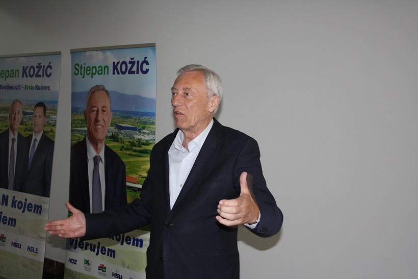 PRVI REZULTATI Dosadašnji zagrebački župan Stjepan Kožić u prednosti nad Zmajlovićem