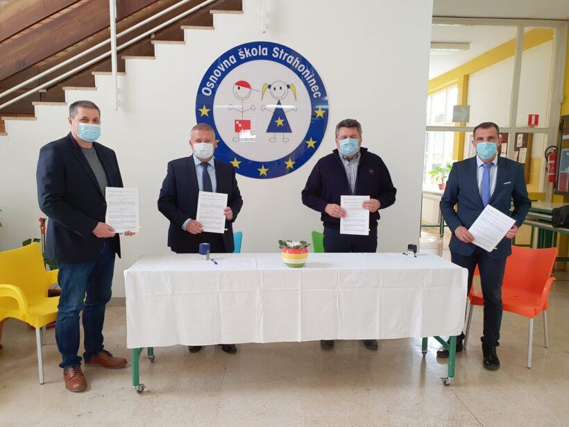 Dogradnjom škole još bolji uvjeti za 358 učenika u Strahonincu
