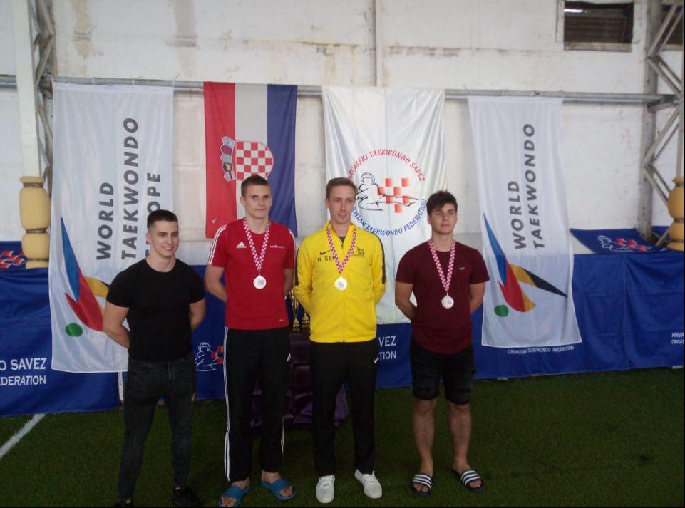 TAEKWONDO Antonio Dragašević osvojio broncu u Zadru