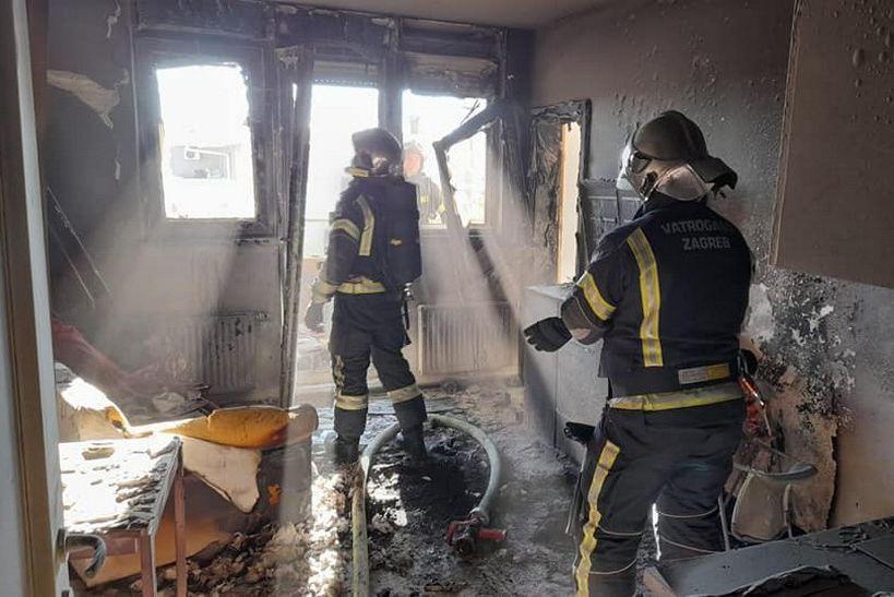 Brzom intervencijom vatrogasca spriječena veća šteta