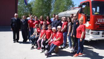 Vatrogasna zajednica grada Vrbovca obilježila blagdan sv. Florijana