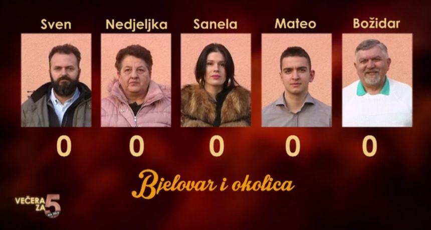 Gledatelje 'Večere za 5 na selu' očekuju zanimljivi kandidati iz Bjelovara