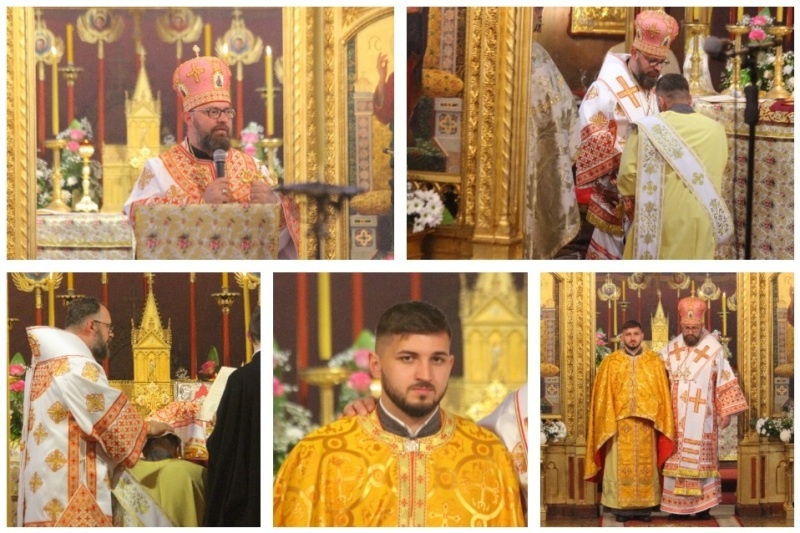 U križevačkoj katedrali vladika mons. Milan Stipić rukopoložio za prezbitera đakona Ivana Skalivyskoga