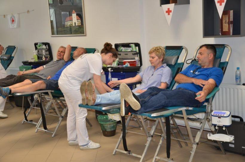 ĐURĐEVAC Dobrovoljno darivanje krvi od 16. lipnja