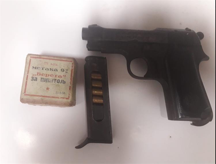 Osoba s koprivničkog područja predala pištolj i 34 komada pištoljskog streljiva