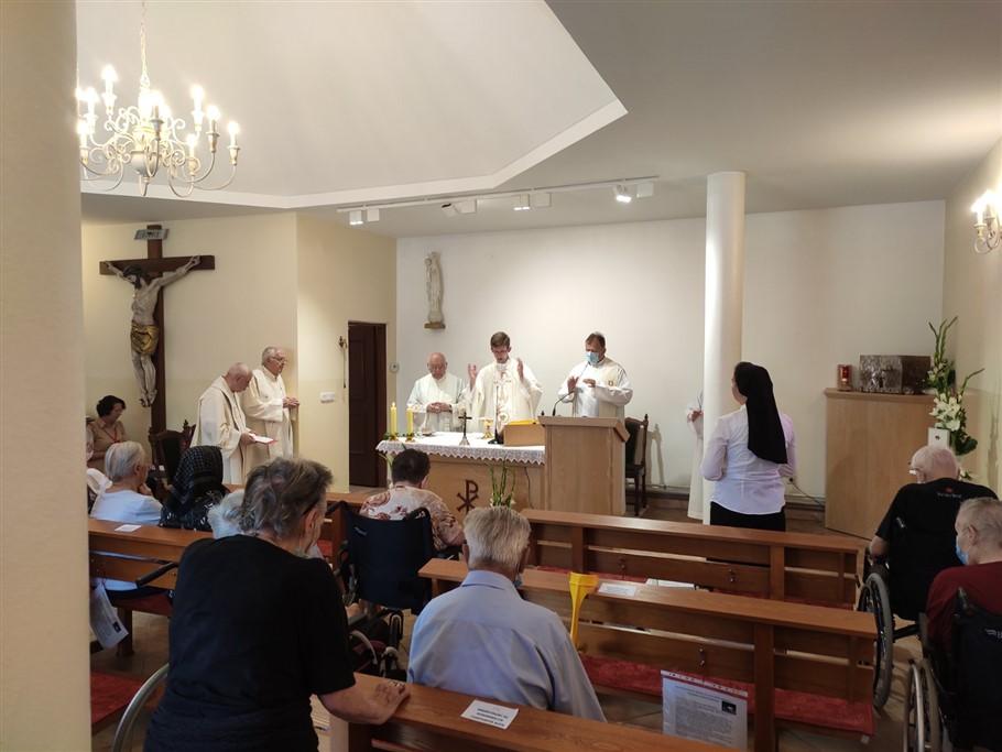 """Štićenici vrbovečkog Caritasova doma za starije i nemoćne """"Sv. Kamilo de Lellis"""" proslavili nebeskog zaštitnika"""