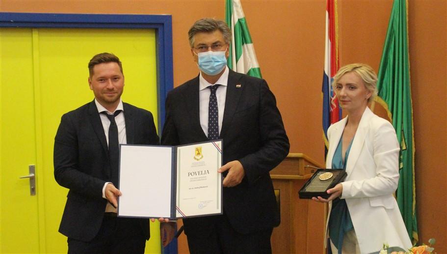 Premijer Andrej Plenković postao počasni građanin općine Farkaševac