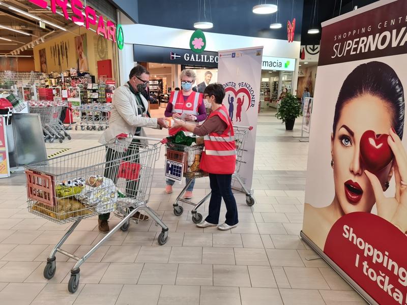 Koprivnički Crveni križ u subotu prikuplja donacije za Socijalnu samoposlugu