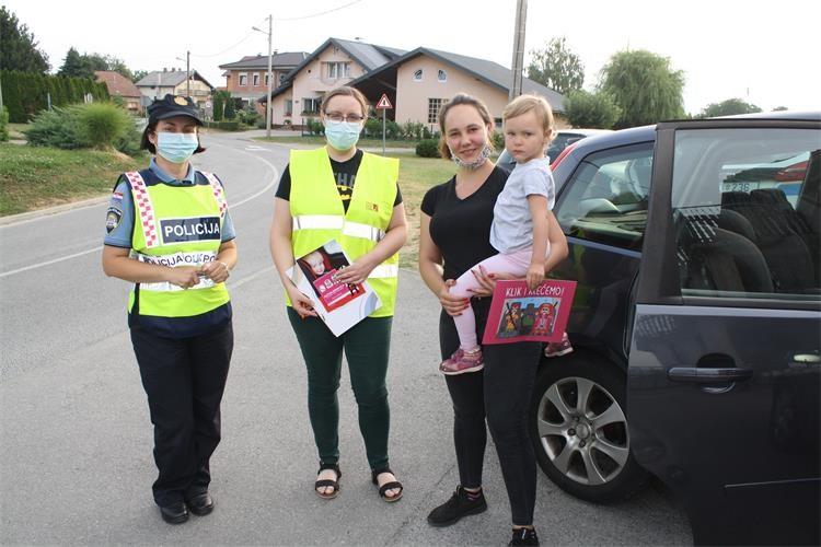 Koprivnička policija provela preventivni pregled korištenja autosjedalica
