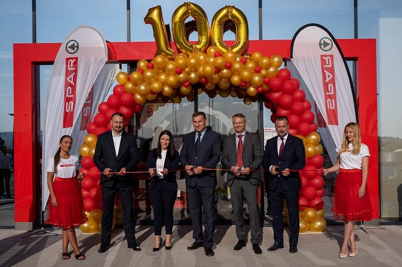 Otvoren 100. SPAR supermarket u Hrvatskoj / Grad Novi Marof domaćin je jubilarnog 100. SPAR supermarketa