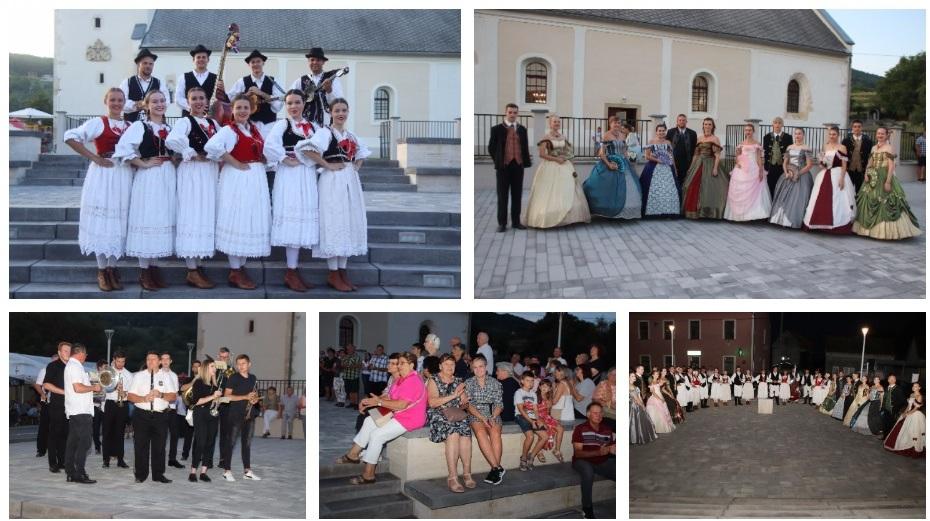 🖼️ 🎦 VELIKA MEŠA 2021 Bogat kulturno-umjetnički program na Sidonijinom trgu oduševio Gornjoriječane
